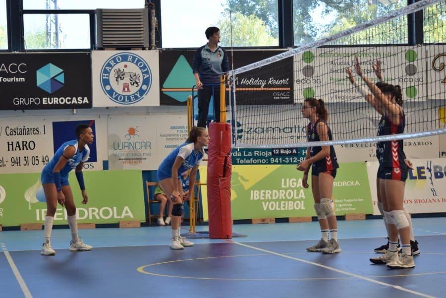 El Arenal Emevé vence al OSACC Haro y se lleva el Lorena Ojeda 8
