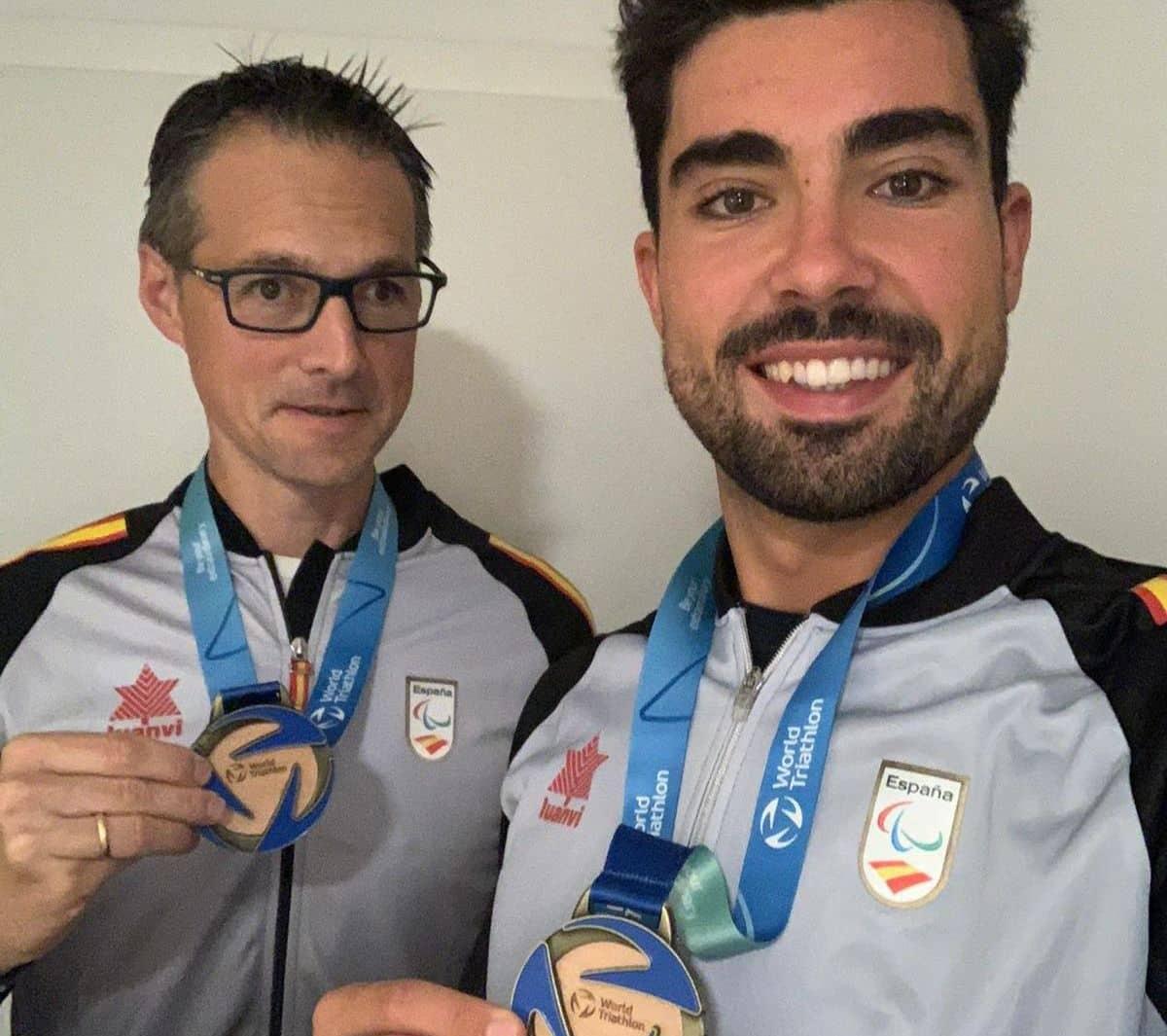 El Ayuntamiento de Haro felicita a Fernando Riaño y Darío Pérez por revalidar el título mundial 1