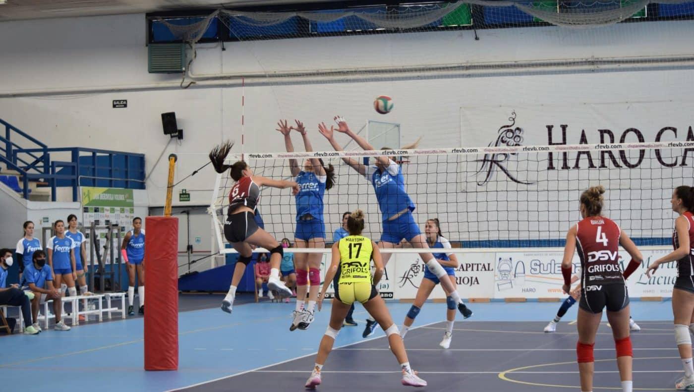 El OSACC Haro se estrena con victoria en el Lorena Ojeda 3