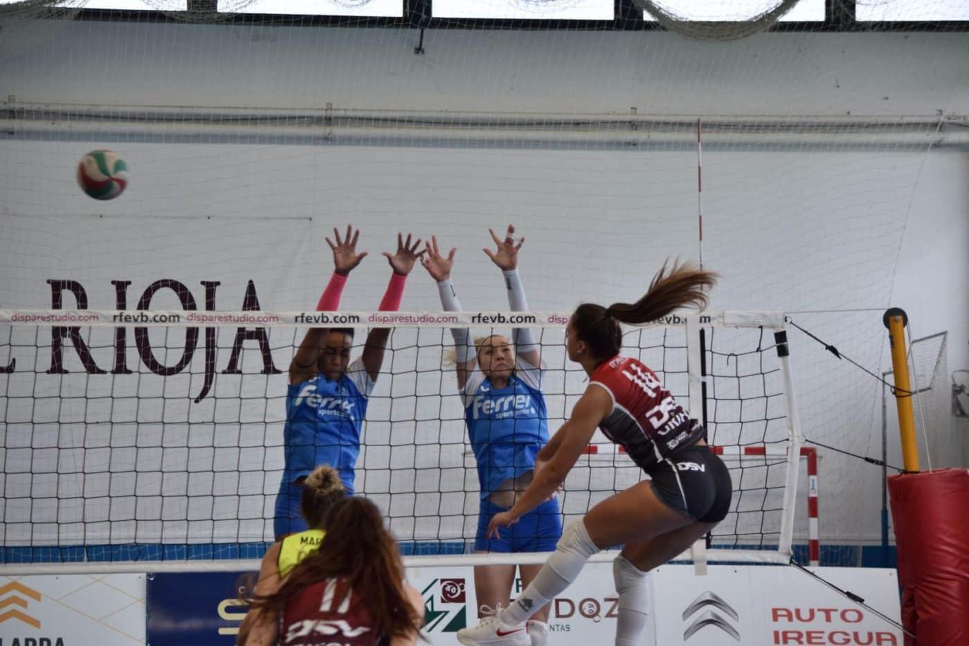 El OSACC Haro se estrena con victoria en el Lorena Ojeda 5