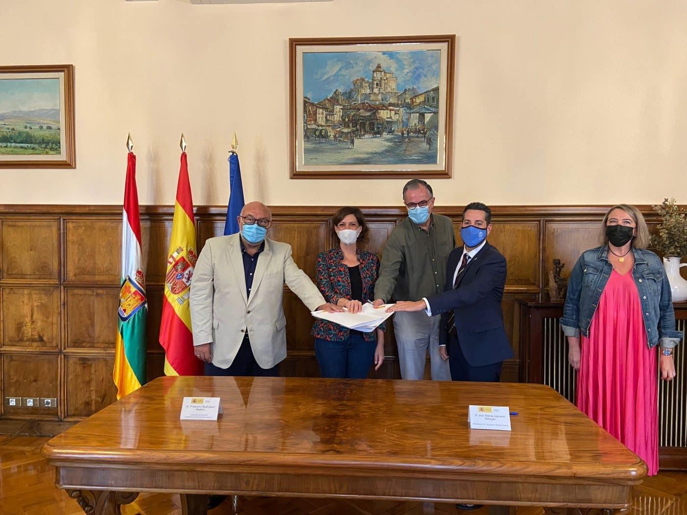 Firmado el convenio para la modernización del regadío de San Asensio 2