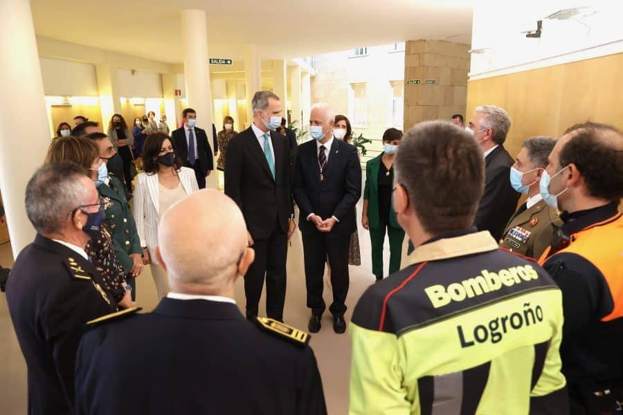 FOTOS: Felipe VI visita Logroño con motivo del V Centenario del Sitio de la Ciudad 14