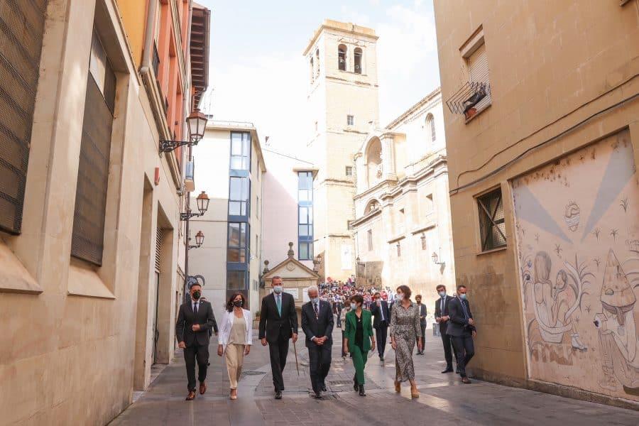 FOTOS: Felipe VI visita Logroño con motivo del V Centenario del Sitio de la Ciudad 5