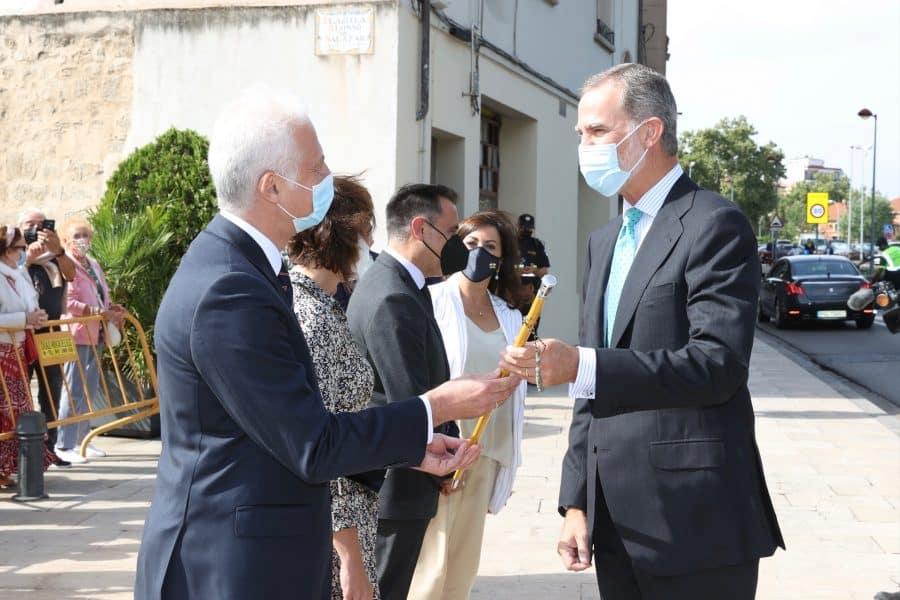 FOTOS: Felipe VI visita Logroño con motivo del V Centenario del Sitio de la Ciudad 8