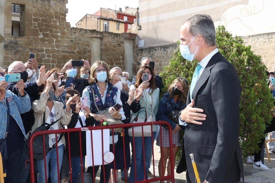 FOTOS: Felipe VI visita Logroño con motivo del V Centenario del Sitio de la Ciudad 7