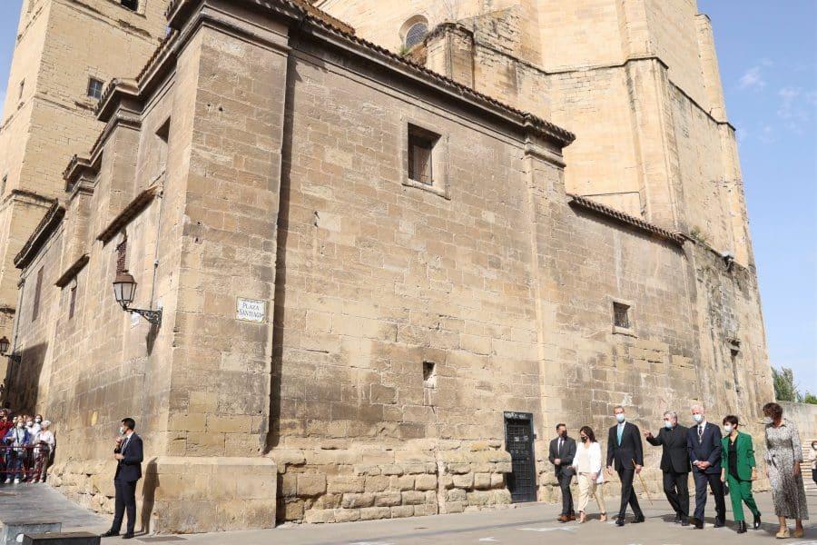 FOTOS: Felipe VI visita Logroño con motivo del V Centenario del Sitio de la Ciudad 6