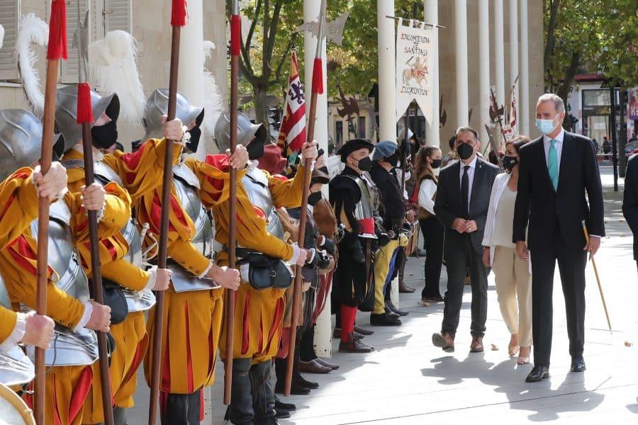 FOTOS: Felipe VI visita Logroño con motivo del V Centenario del Sitio de la Ciudad 15
