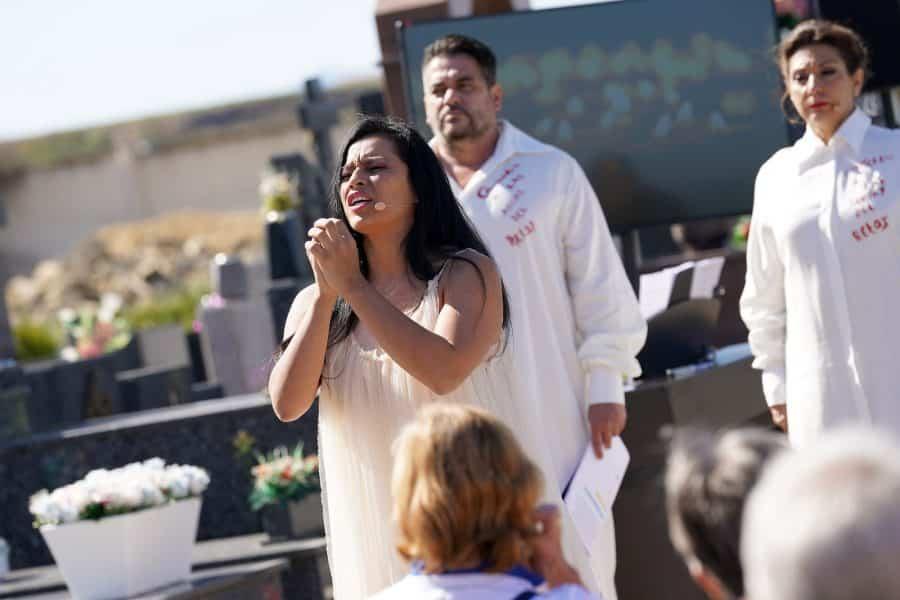 FOTOS: Homenaje musical en el cementerio de Haro a los que ya no están 7