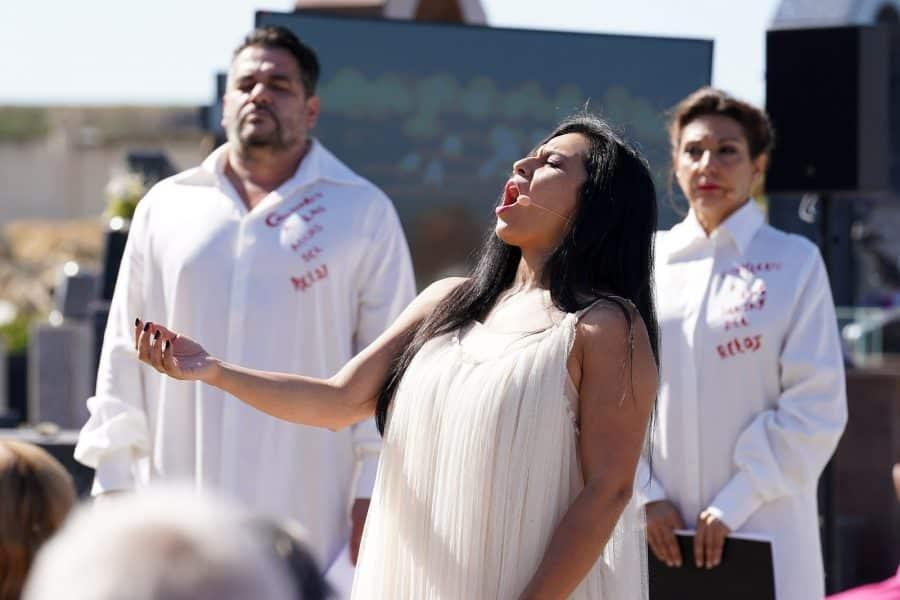 FOTOS: Homenaje musical en el cementerio de Haro a los que ya no están 6