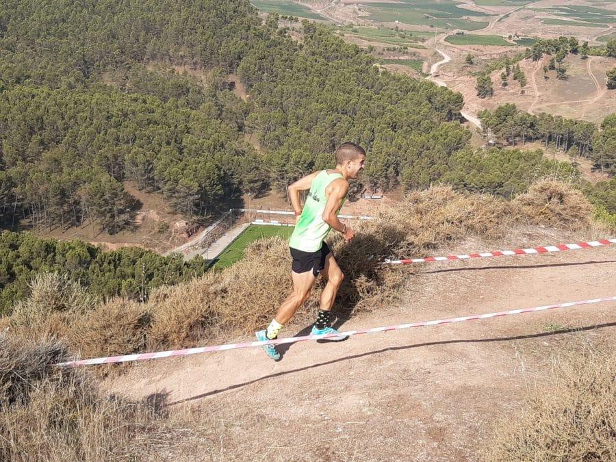 FOTOS: Rodrigo Vicente y Yaquelin Ali, los más rápidos en la subida al Castillo de Nájera 18