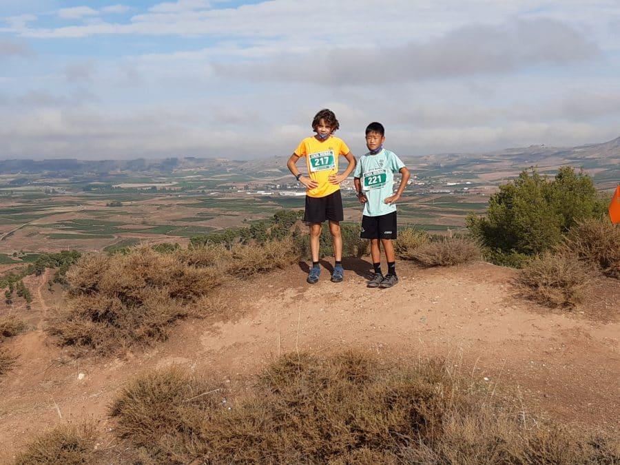 FOTOS: Rodrigo Vicente y Yaquelin Ali, los más rápidos en la subida al Castillo de Nájera 9