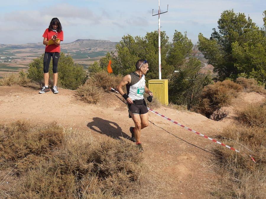 FOTOS: Rodrigo Vicente y Yaquelin Ali, los más rápidos en la subida al Castillo de Nájera 1
