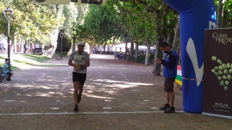 FOTOS: Rodrigo Vicente y Yaquelin Ali, los más rápidos en la subida al Castillo de Nájera 32