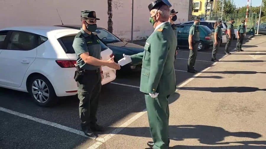Homenaje al sargento Nevado en el cuartel de la Guardia Civil en Haro por su pase a la reserva 4