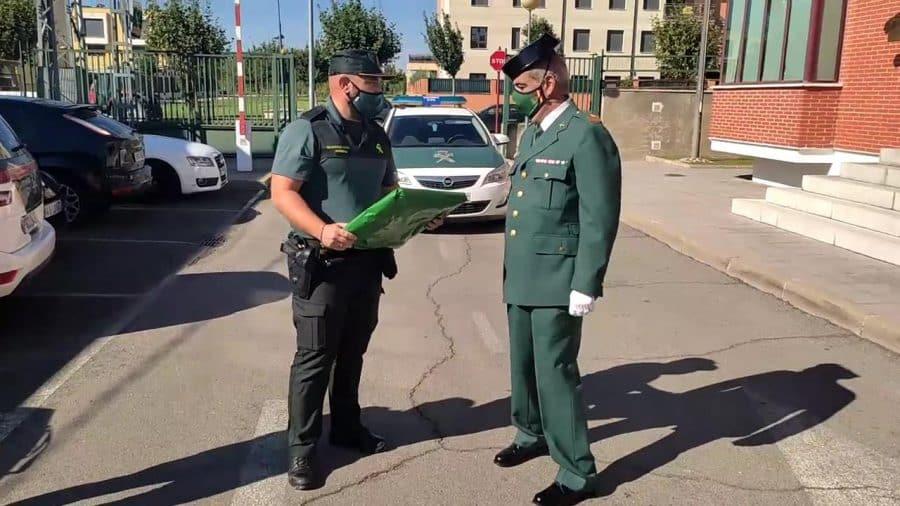 Homenaje al sargento Nevado en el cuartel de la Guardia Civil en Haro por su pase a la reserva 3