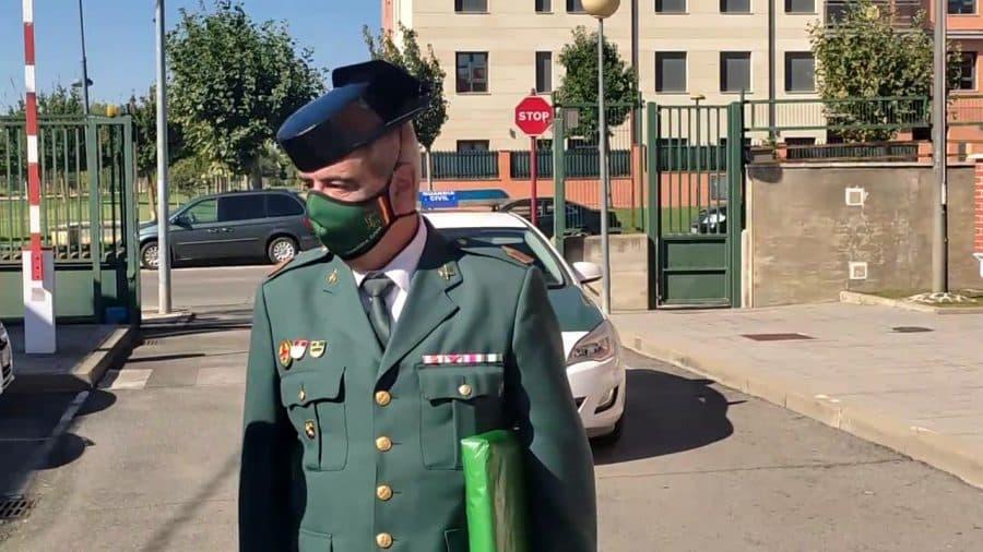 Homenaje al sargento Nevado en el cuartel de la Guardia Civil en Haro por su pase a la reserva 2