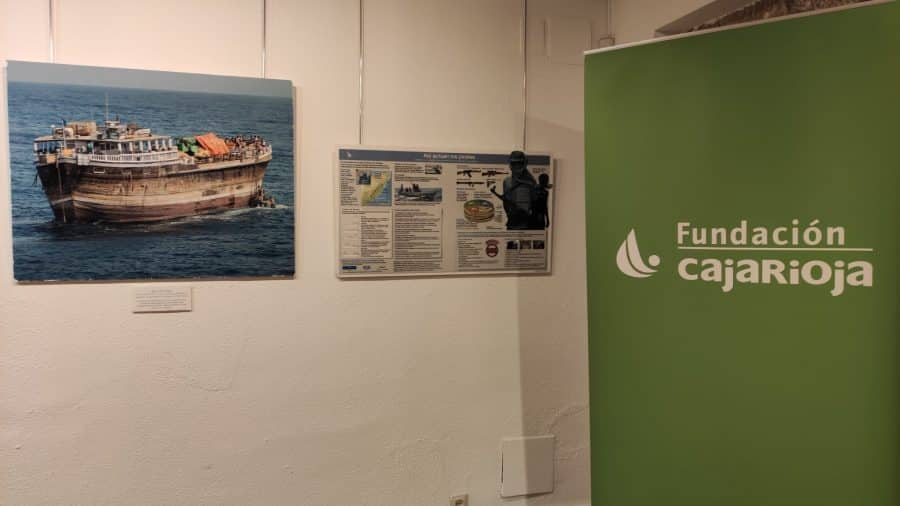 La exposición sobre la 'Misión: Atalanta' de las Fuerzas Armadas llega Haro 8