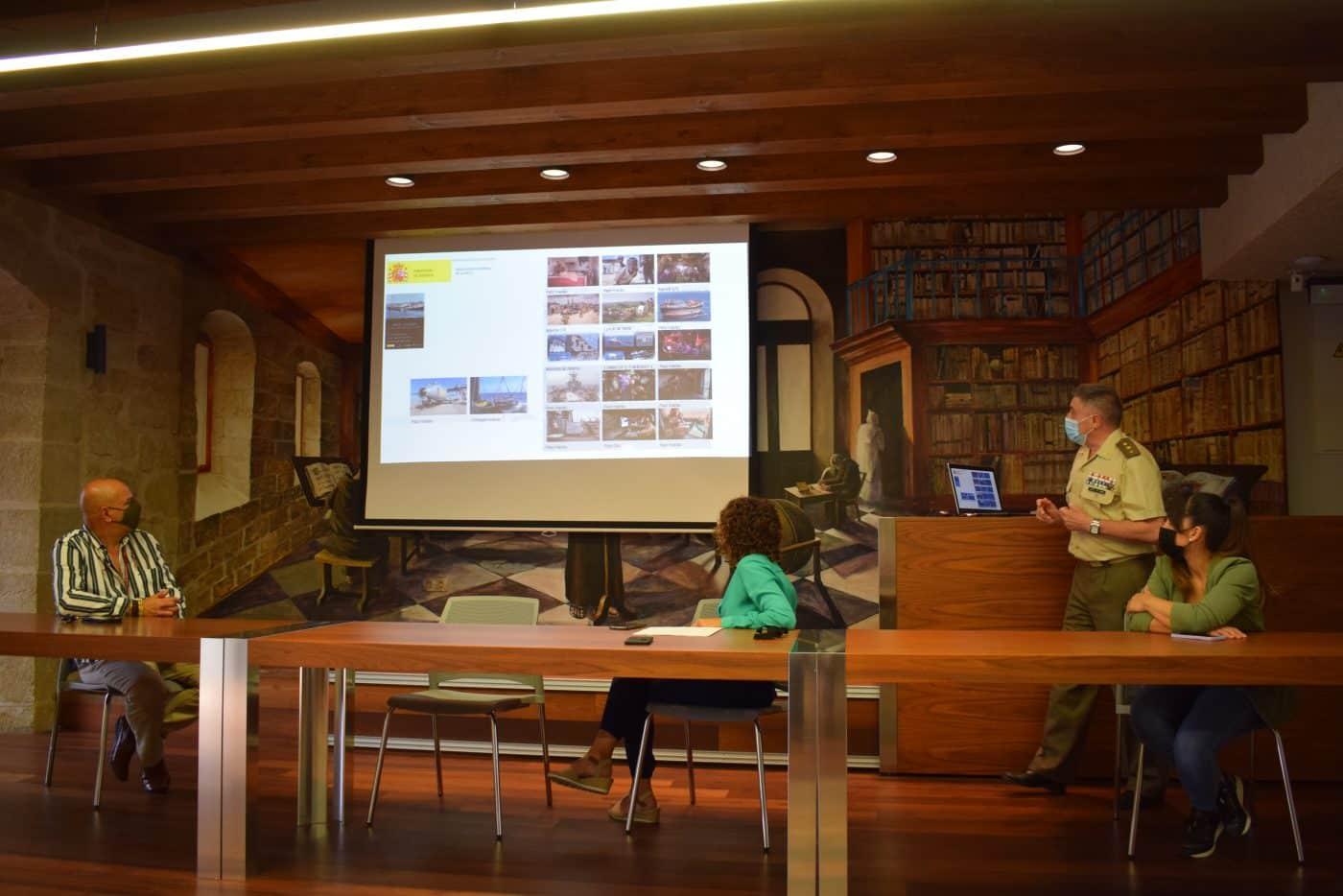 La exposición sobre la 'Misión: Atalanta' de las Fuerzas Armadas llega Haro 2