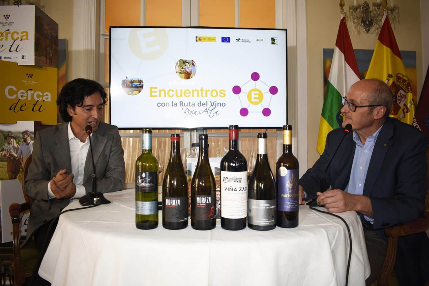 La Ruta del Vino Rioja Alta muestra sus encantos en el Centro Riojano de Madrid 1