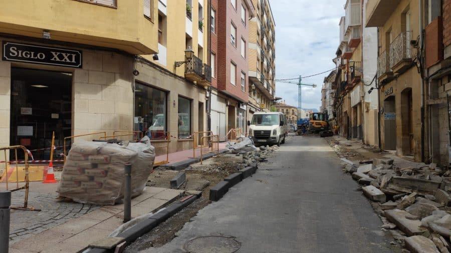 """Rivado pide """"paciencia"""" y """"disculpas"""" a los comerciantes por las molestias ocasionadas por las obras en La Ventilla 5"""