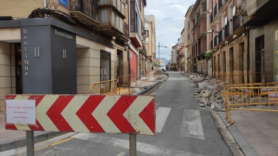 """Rivado pide """"paciencia"""" y """"disculpas"""" a los comerciantes por las molestias ocasionadas por las obras en La Ventilla 4"""