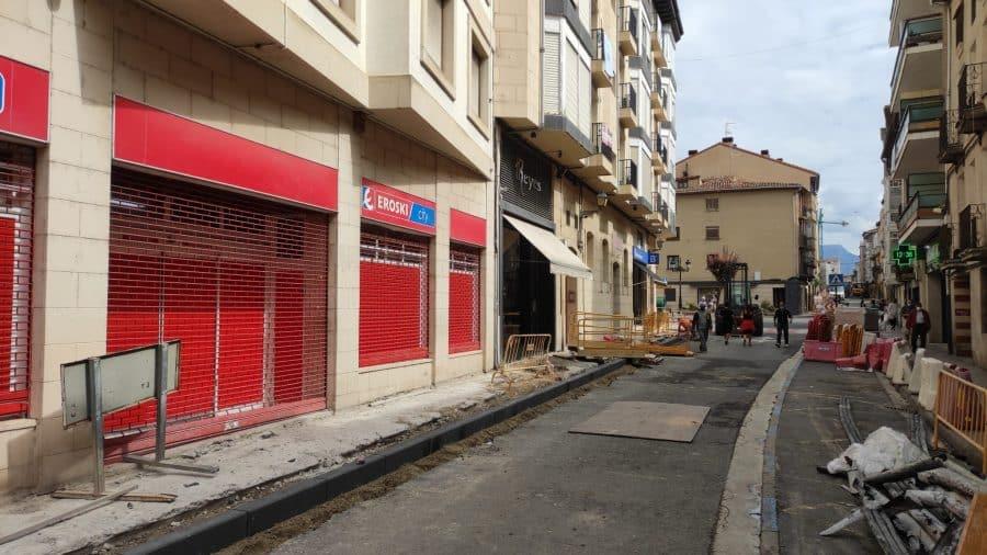 """Rivado pide """"paciencia"""" y """"disculpas"""" a los comerciantes por las molestias ocasionadas por las obras en La Ventilla 2"""