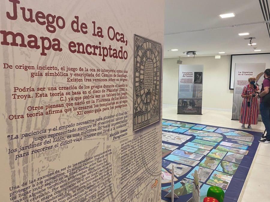 Santo Domingo acoge una exposición llena de curiosidades sobre el Camino Francés 1
