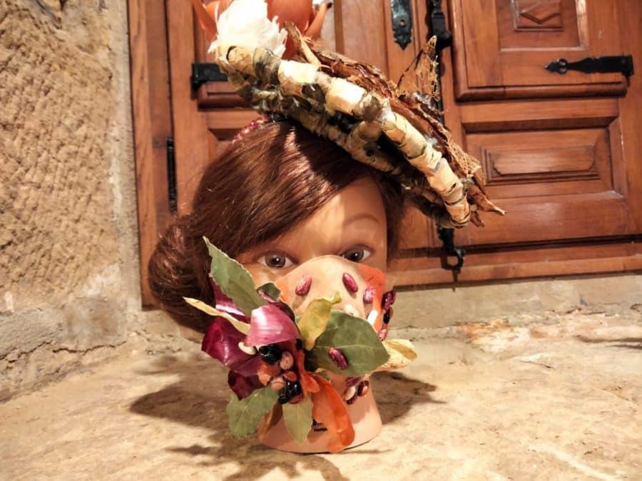 'Sintiendo Elementos': Llega a Haro la exposición de tocados elaborados con verduras 3