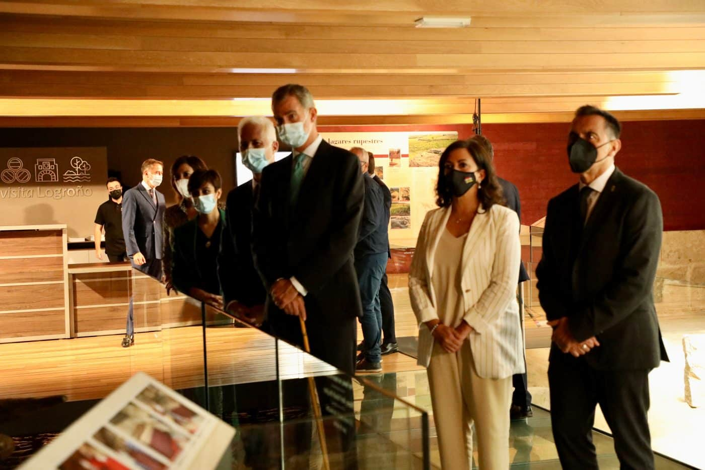 FOTOS: Felipe VI visita Logroño con motivo del V Centenario del Sitio de la Ciudad 1