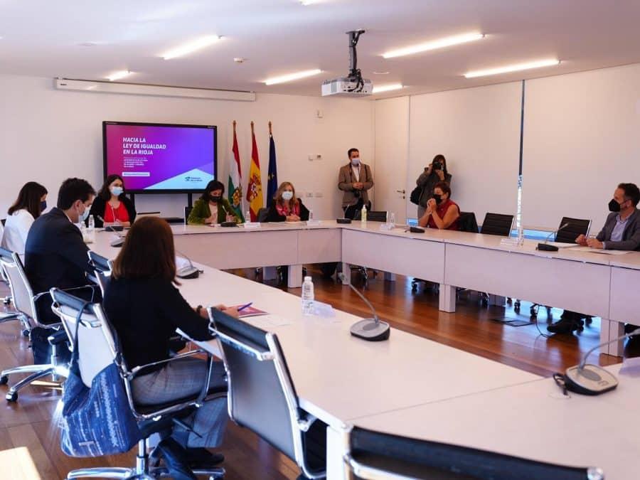 Andreu anuncia que el articulado de la Ley de Igualdad de La Rioja está listo 1