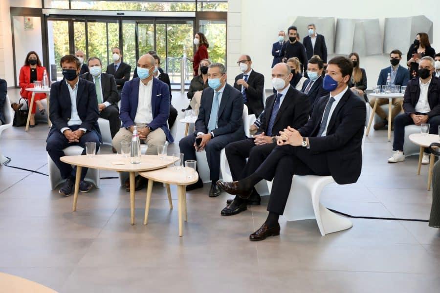 """Andreu apela junto a Calviño a la """"cooperación"""" de las empresas para """"construir juntos La Rioja del futuro"""" 1"""