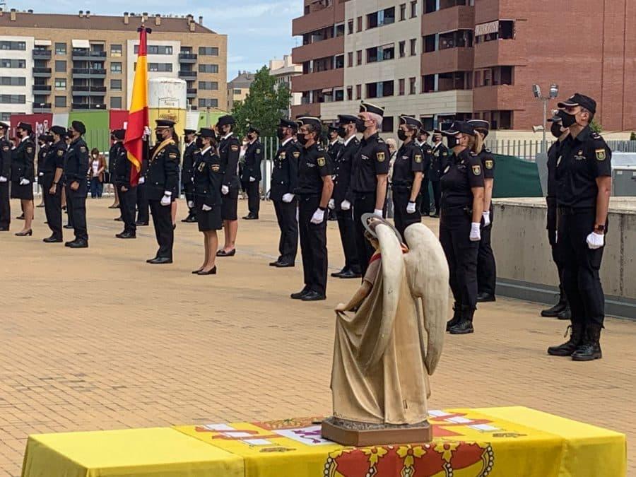 Celebración del Día de la Policía en Logroño 1
