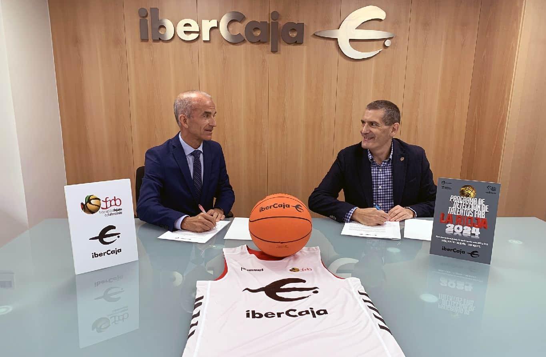 Ibercaja apoya el programa de detección de talentos de la Federación Riojana de Baloncesto 1