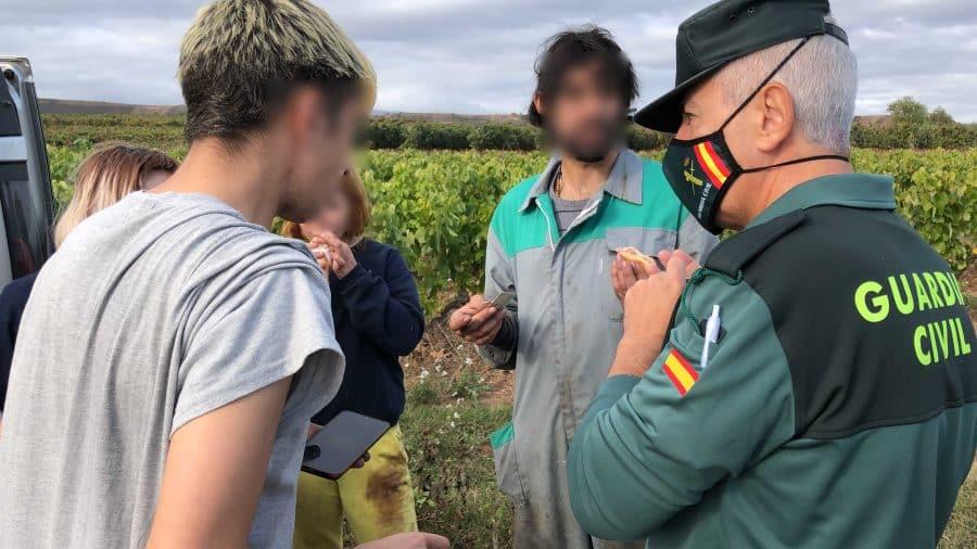 La Guardia Civil intensifica en La Rioja las actuaciones contra la explotación laboral y la trata de personas durante la vendimia 3