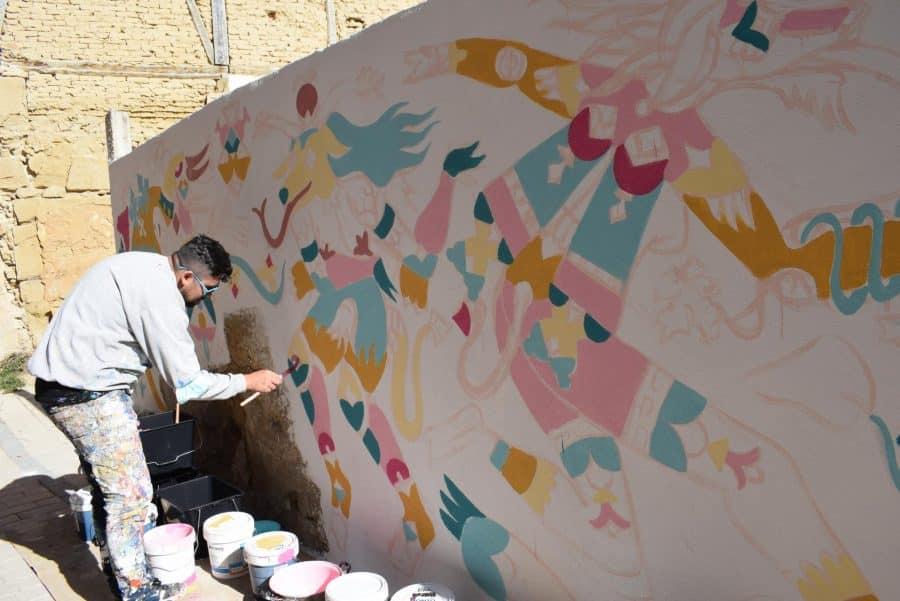 """""""Los vecinos están encantados con el trabajo de los muralistas en el Casco Antiguo"""" 8"""