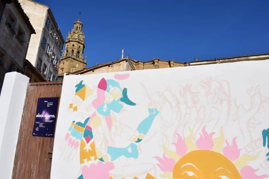 """""""Los vecinos están encantados con el trabajo de los muralistas en el Casco Antiguo"""" 4"""