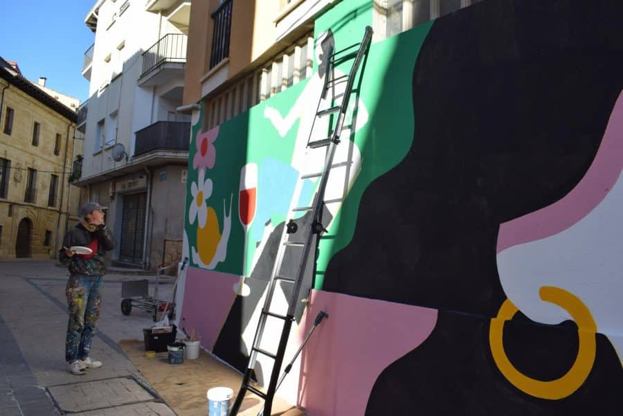 """""""Los vecinos están encantados con el trabajo de los muralistas en el Casco Antiguo"""" 13"""