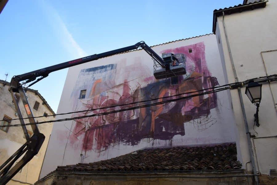 """""""Los vecinos están encantados con el trabajo de los muralistas en el Casco Antiguo"""" 12"""