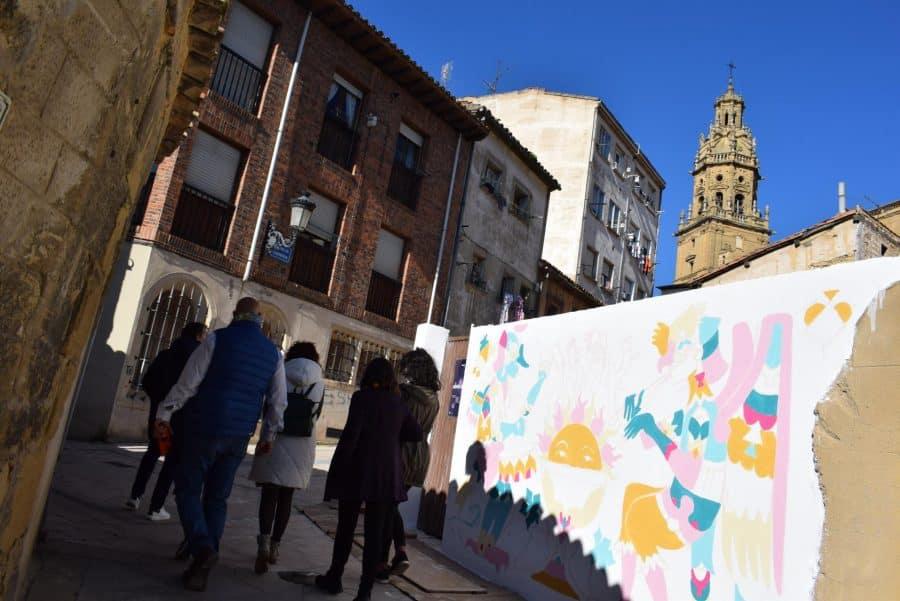 """""""Los vecinos están encantados con el trabajo de los muralistas en el Casco Antiguo"""" 9"""