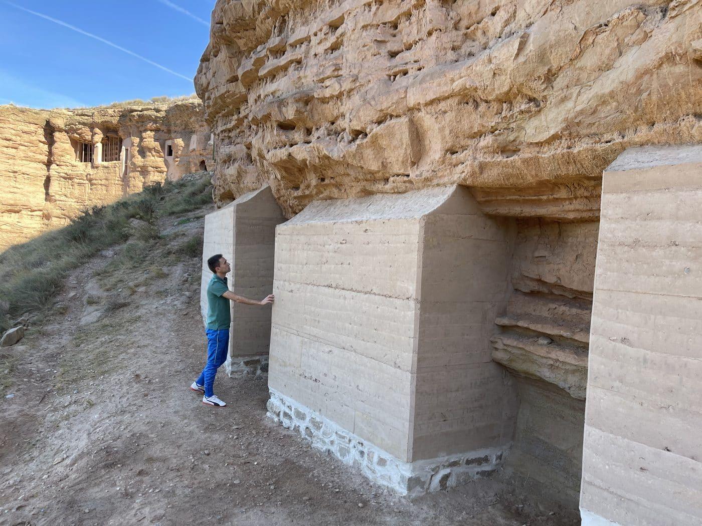 Nalda pone a punto su conjunto de cuevas de Los Palomares 4