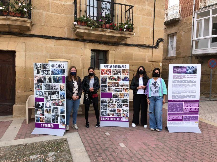 Rodezno exhibe la infografía 'Ayer y hoy con nombre de mujer' 3