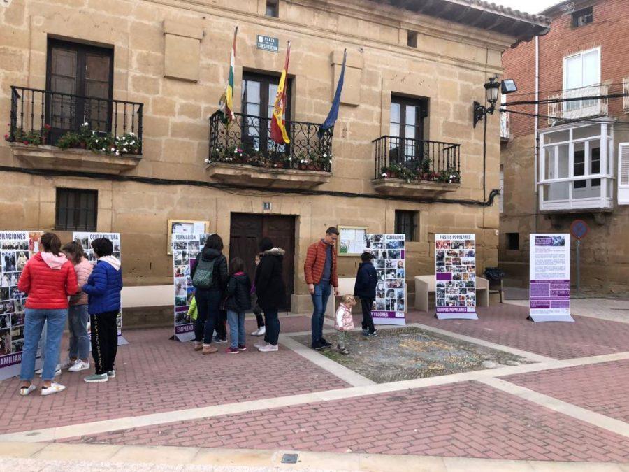 Rodezno exhibe la infografía 'Ayer y hoy con nombre de mujer' 2