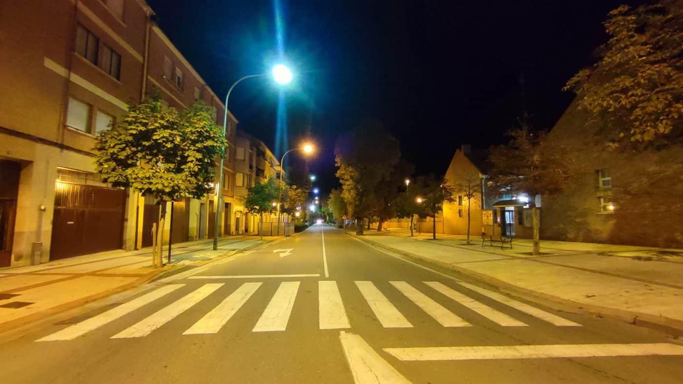 Santo Domingo aprueba la instalación de luminarias LED en la avenida de Haro 1